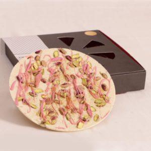 پیتزا شکلات سفید